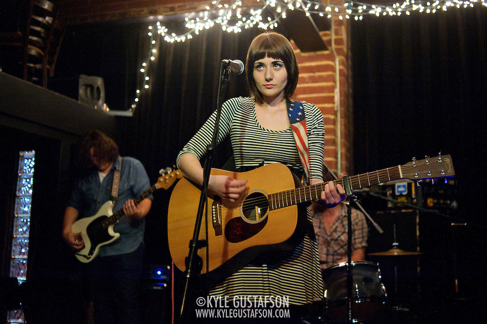 ARLINGTON, VA - August 23rd, 2011:  Jessica Lea Mayfield performs at the Iota Cafe in Arlington, VA. She released her sophomore album, Tell Me, earlier this year. (Photo by Kyle Gustafson/For The Washington Post)