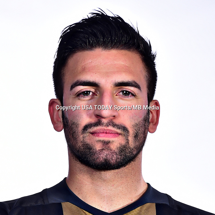 Feb 25, 2016; USA; Philadelphia Union player Richie Marquez poses for a photo. Mandatory Credit: USA TODAY Sports