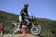 Iain Glenn competing in GS Trophy competition at 2010 Rawhyde Adventure Rider Challenge