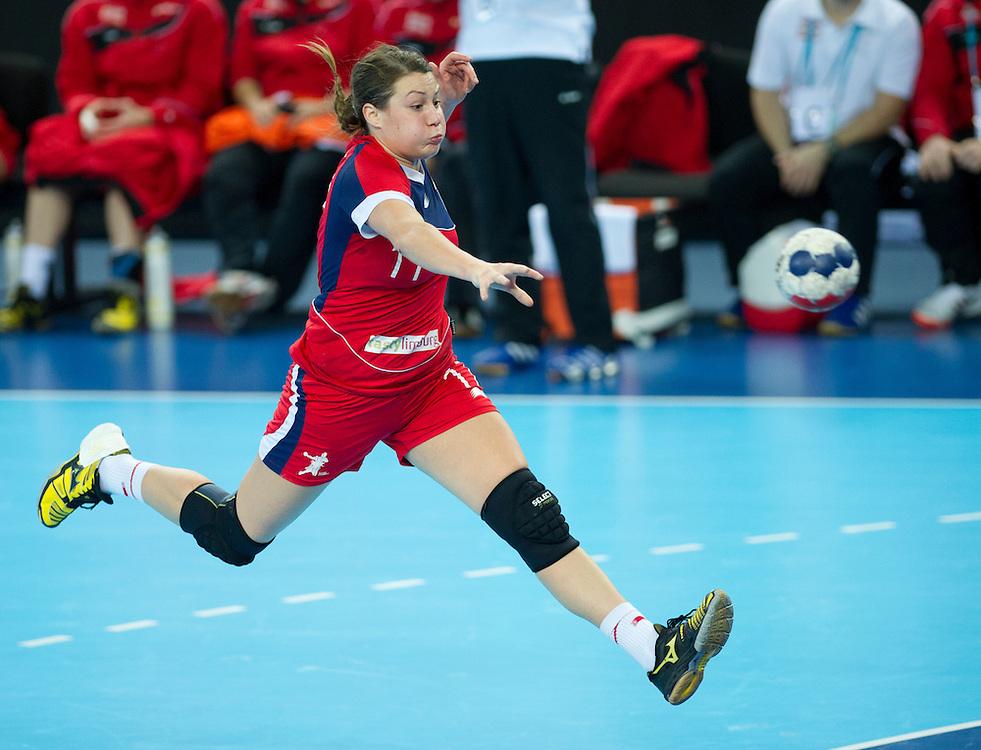 London Handball Cup - GB vs Austria - Ewa Palies (GB)