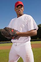 Pitcher Standing on Mound