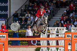 Ladeira Bernardo, POR, Dento<br /> European Championship Jumping<br /> Rotterdam 2019<br /> © Hippo Foto - Dirk Caremans<br /> Ladeira Bernardo, POR, Dento