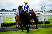 Swiss Chill ridden by Hollie Doyle  and trained by Clive Cox in the Best Free Tips At Valuerater.Co.Uk Handicap (Bath Summer Sprint Series Qualifier) (Class 6) race. - Ryan Hiscott/JMP - 07/08/2019 - PR - Bath Racecourse - Bath, England - Race Meeting at Bath Racecourse
