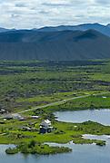 Hverfjall (Hverfell) in Reykjahlíð, (Norðausturland,Mývatn).