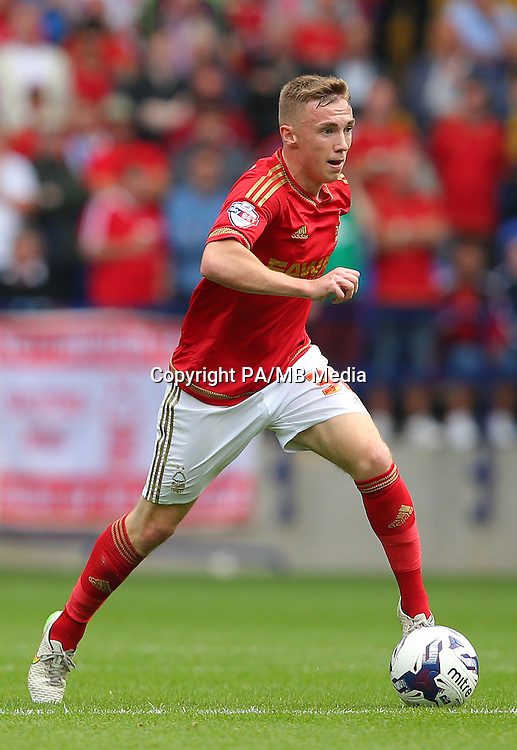 Nottingham Forest's Ben Osborn