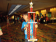 Daniel Hung, a second-grader at T.H. Rogers, participated in the National Chess tournament in Florida this weekend, bringing home third place individual trophy for the second grade Championship section. Daniel's chess rating is currently 1446.<br /> To submit photos for inclusion in eNews, send them to hisdphotos@yahoo.com.