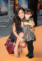 Myleene Klass; Ava Bailey Quinn The Lion King 3D - UK film premiere, BFI IMAX, Waterloo, London, UK. 25 September 2011 Contact: Rich@Piqtured.com +44(0)7941 079620 (Picture by Richard Goldschmidt)