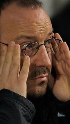 LONDON, ENGLAND - Wednesday, January 30, 2008: Liverpool's manager Rafael Benitez during the Premiership match against West Ham United at Upton Park. (Photo by David Rawcliffe/Propaganda)