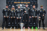 May 4-6, 2018: Mid Ohio Sportscar Course. Race 1. 47 Dylan Murcott, Patrick Liddy, PPM, Lamborghini Palm Beach, Lamborghini Huracan Super Trofeo EVO, 46 Brandon Gdovic, Shinya Sean Michimi, PPM, Lamborghini Palm Beach Lamborghini Huracan Super Trofeo EVO, 67 Shea Holbrook, Martin Barkey, PPM, Lamborghini Beverly Hills Lamborghini Huracan Super Trofeo EVO