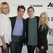 London,England,UK : Fleming Mayfair Teams attend the Raindance Filmmakers Ball by London Flair Pr at Cafe De Paris  in London. Photo by See Li