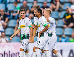 17.07.2019, Kufstein Arena, Kufstein, AUT, Testspiel, Borussia Moenchengladbach vs Istanbul Basaksehir FC, im Bild Torjubel Borussia Mönchengladbach zum 4:1 durch Keanan Bennetts (Borussia Mönchengladbach) // during a test match for the upcoming Season between Borussia Moenchengladbach and Istanbul Basaksehir FK at the Kufstein Arena in Kufstein, Austria on 2019/07/17. EXPA Pictures © 2019, PhotoCredit: EXPA/ Stefan Adelsberger