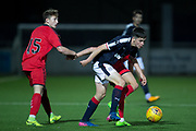 17/10/2017 - Dundee v Falkirk in the SPFL Development League at Links Park, Montrose; Dundee's Callum Moore