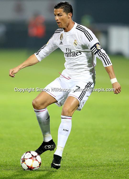 Dubai Football Challenge 2014, Sevens Stadium Dubai, 30/12/14 - Cristiano Ronaldo in the 1st half