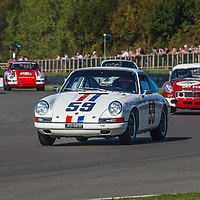 1965 Porsche 911 2-litre driven by Shaun Lynn in the Fordwater Trophy at Goodwood Revival 2019