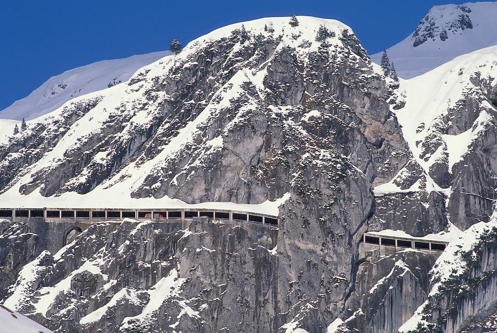 Flexenpass, Arlberg,Vorarlberg, Austria
