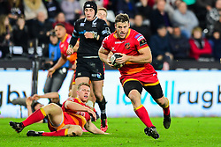 Dragons' Pat Howard in action - Mandatory by-line: Craig Thomas/JMP - 27/10/2017 - RUGBY - Liberty Stadium - Swansea, Wales - Ospreys v Dragons - Guinness Pro 14