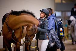 Vorsselmans Annelies, BEL, Wilandro 3<br /> Jumping Indoor Maastricht 2018<br /> © Hippo Foto - Sharon Vandeput<br /> 25/11/18