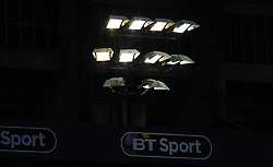 Lights shine down at the BT Sport Cardiff Arms Park  - Mandatory by-line: Nizaam Jones/JMP- 24/03/2018 - RUGBY - BT Sport Cardiff Arms Park- Cardiff, Wales - Cardiff Blues v Ulster Rugby - Guinness Pro 14
