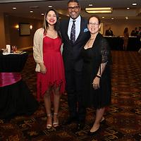 Mireille Bradford, Awardee Gene Dobbs Bradford, Maria Bradford