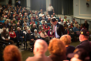 BLUFFTON, SC _ FEBRUARY 11, 2016: Presidential candidate Marco Rubio pauses while speaking to supporters during a campaign stop at Magnolia Hall at Sun City Hilton Head, Thursday, Feb. 11, 2016 in Bluffton, S.C.  CREDIT: Stephen Morton for The New York Times
