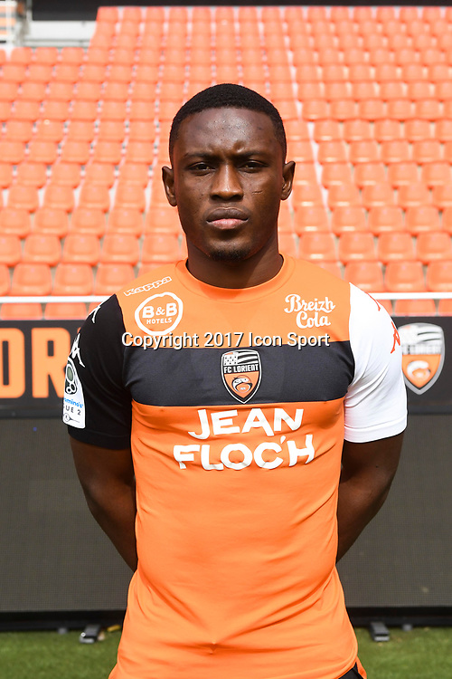 Abdoul Majeed Waris during photoshooting of FC Lorient for new season 2017/2018 on September 12, 2017 in Lorient, France. (Photo by Philippe Le Brech/Icon Sport)