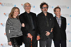 Frankenweenie photocall with Tim Burton, Martin Landau, Catherine O'Hara, Martin Short, stars of animated family film pose for pictures ahead of tonight's premiere which opens this year's London Film Festival.  Corinthia Hotel, London, United Kingdom, October 10, 2012. Photo by Nils Jorgensen / i-Images.