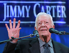 Jimmy Carter At Emory University Town Hall - 12 Sep 2018