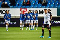 Fotball , 10 November 2019 , Eliteserien , Molde - Strømsgodset , Magnus Wolff Eikrem feirer 2-0 <br /> <br /> <br /> , Foto: Marius Simensen, Digitalsport