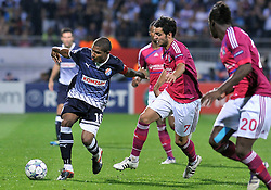 27.09.2011, Stade de Gerland, Lyon, FRA, UEFA CL, Gruppe D, Olympique Lyon (FRA) vs Dinamo Zagreb (CRO), im Bild Jorge Sammir Cruz Campos (10), Clement Grenier (7) // during the UEFA Champions League game, group D, Olympique Lyon (FRA) vs Dinamo Zagreb (CRO) at de Gerland stadium in Lyon, France on 2011/09/27. EXPA Pictures © 2011, PhotoCredit: EXPA/ nph/ Pixsell +++++ ATTENTION - OUT OF GERMANY/(GER), CROATIA/(CRO), BELGIAN/(BEL) +++++