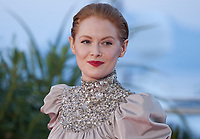Emily Beecham, winner of the Best Actress award for the film Little Joe at the Palme D'Or Award photo call at the 72nd Cannes Film Festival, Saturday 25th May 2019, Cannes, France. Photo credit: Doreen Kennedy