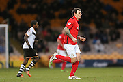 Coventry City forward Darius Henderson   during the Sky Bet League 1 match between Port Vale and Coventry City at Vale Park, Burslem, England on 7 February 2016. Photo by Simon Davies.