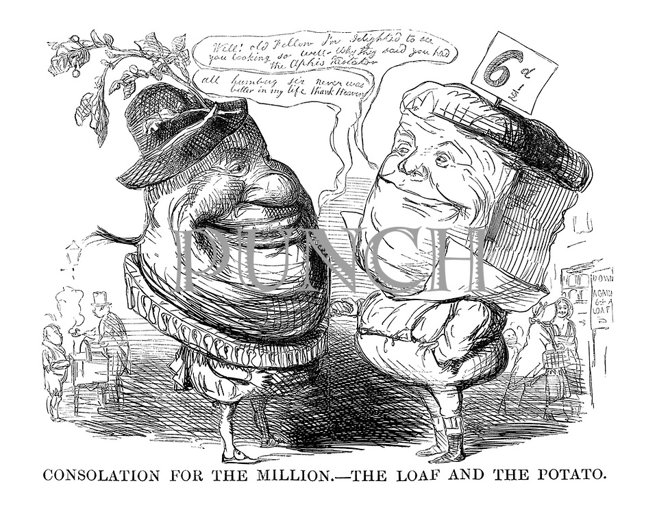 Consolation for the Million. - The Loaf and the Potato.