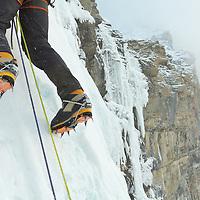 Ice Climbing Murchison Falls Banff National Park
