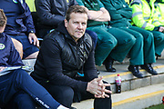 Forest Green Rovers head coach, Mark Cooper during the EFL Sky Bet League 2 match between Forest Green Rovers and Mansfield Town at the New Lawn, Forest Green, United Kingdom on 19 October 2019.