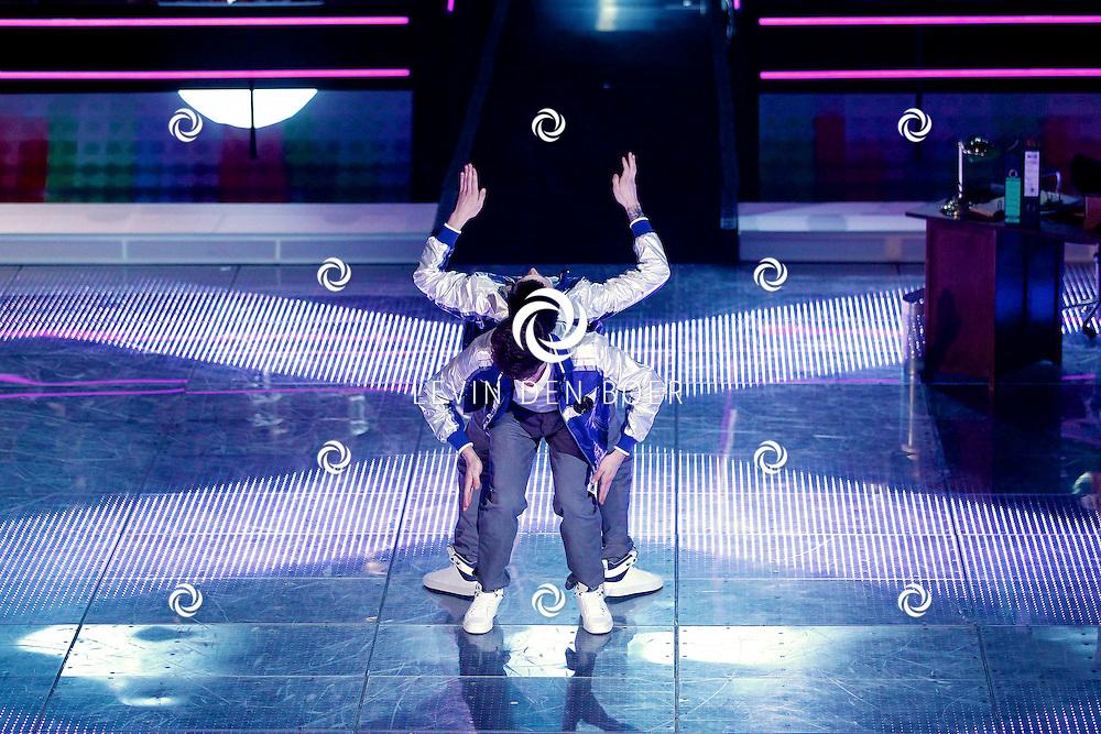 AALSMEER - In Studio Alsmeer is de liveshow van Everybody Dance Now. Met op de foto  Elastic Double. FOTO LEVIN DEN BOER - PERSFOTO.NU