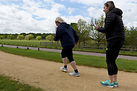 ITEM SPECIFICS HERE Celebrate You Training Session with Tim Weeks in Richmond Park, Surrey - preparing runners for The Vitality London 10,000, which will take place on Monday 27th May 2019. Friday 26 April 2019<br /> <br /> Photo: Kate Green for Vitality London 10,000<br /> <br /> For further information: media@londonmarathonevents.co.uk