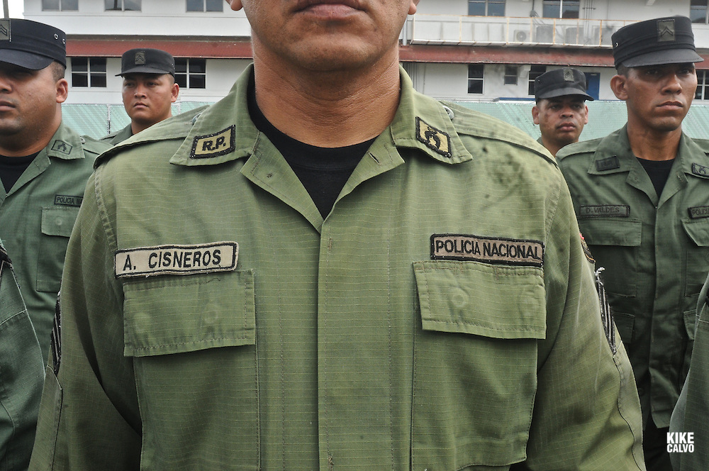 Panamanian National Police forces.