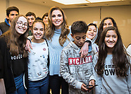 Queen Rania-Relaxed Pose On Start-Up Visit