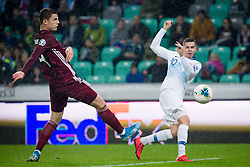 Miha Zajc during the 2020 UEFA European Championships group G qualifying match between Slovenia and Latvia at SRC Stozice on November 19, 2019 in Ljubljana, Slovenia. Photo by Sasa Pahic Szabo / Sportida