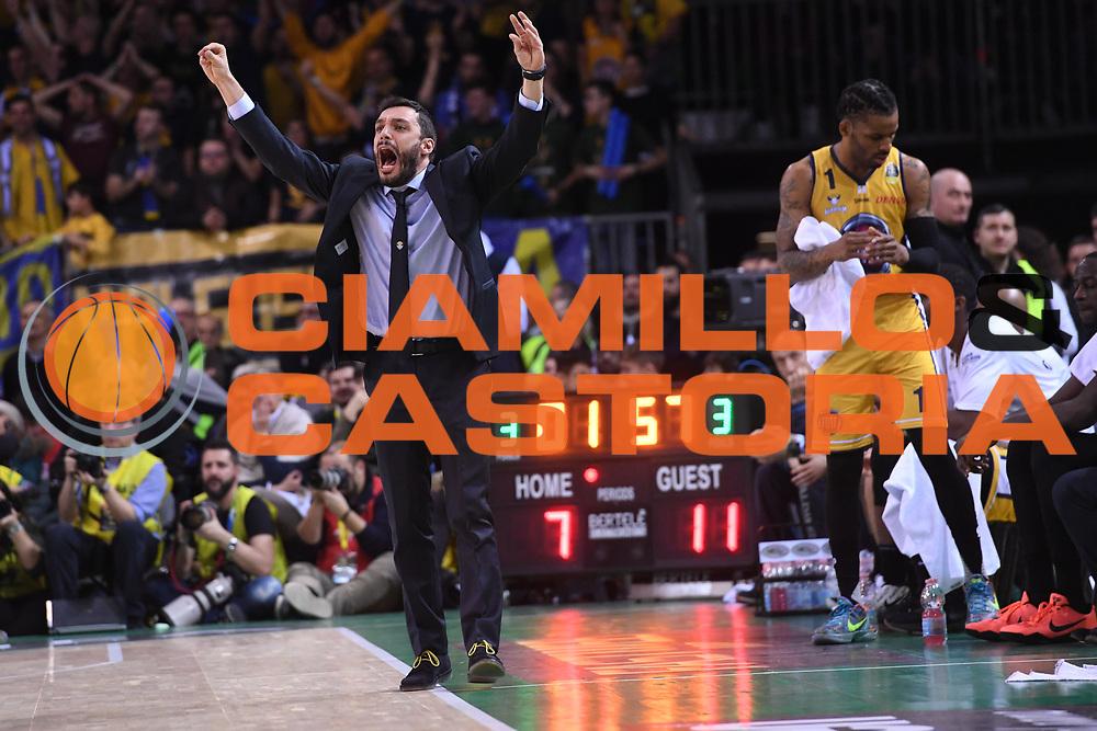 Paolo Galbiati<br /> Fiat Auxillium Torino - Germani Basket Brescia<br /> Postemobile Final 8 2018<br /> Firenze, 18/02/2018<br /> Foto Ciamillo-Castoria
