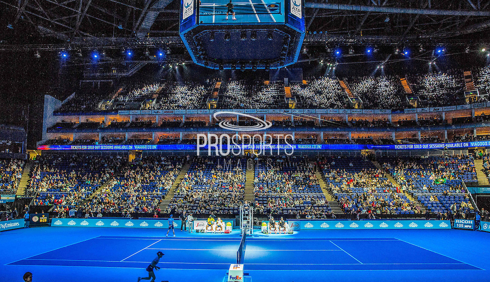 During the Mens Doubles Final of the Barclays ATP World Tour Finals, O2 Arena, London, United Kingdom on 16 November 2014 © Pro Sports Images