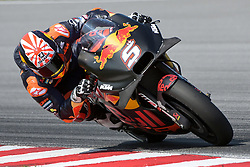 February 7, 2019 - Sepang, Malaysia - Red Bull KTM Factory Racing's rider Johann Zarco of France takes a corner during the second day of the 2019 MotoGP pre-season testing at Sepang International Circuit February 7, 2019. (Credit Image: © Zahim Mohd/NurPhoto via ZUMA Press)