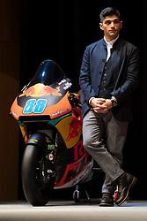 12.02.2019, Munderfing, AUT, MotoGP, Teampräsentation KTM Factory Racing, im Bild Jorge Martin (ESP) Moto2 // during the presentation of KTM factory racing for the upcoming Season in Munderfing, Austria on 2019/02/12. EXPA Pictures © 2019, PhotoCredit: EXPA/ Reinhard Eisenbauer