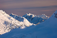 The North Cascades in winter, Washington USA