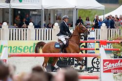 WILL David (GER), Calvilot<br /> Hagen - Horses and Dreams meets the Royal Kingdom of Jordan 2018<br /> Grosser Preis der DKB Qualifikation DKB-Riders Tour<br /> 30 April 2018<br /> www.sportfotos-lafrentz.de/Stefan Lafrentz