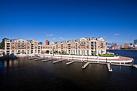 Architectural and Interior photography of the Ritz Carlton Residences in Baltimore City at Inner Harbor