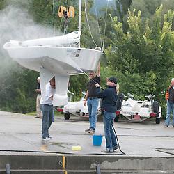 July 2011 Switzerland, Thun Star Class Swiss Nationals on lake Thun