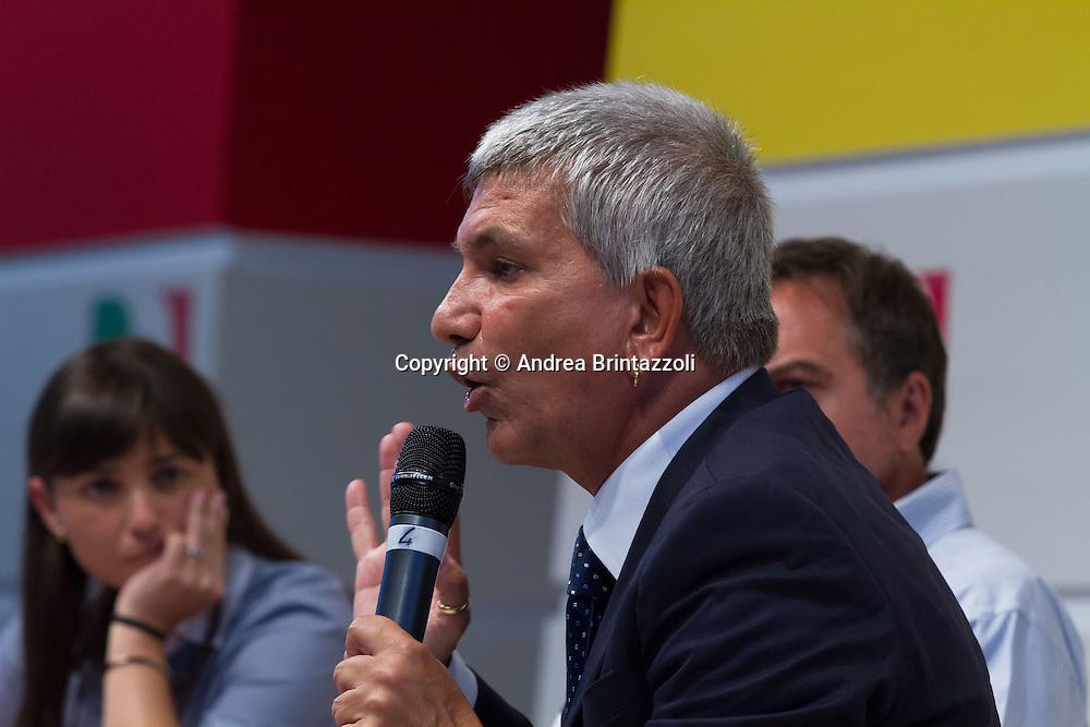 Bologna 05 settembre 2014 - Festa de l'Unità. Dibattito: Alla ricerca della buona politica e della buona amministrazione. Nella foto Nichi Vendola