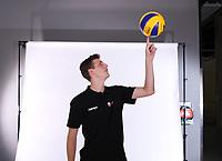 Volleyball 1. Bundesliga  Saison 2018/2019  Media Day Fotoshooting  TV Rottenburg  07.09.2018 Pressesprecher Moritz Liss