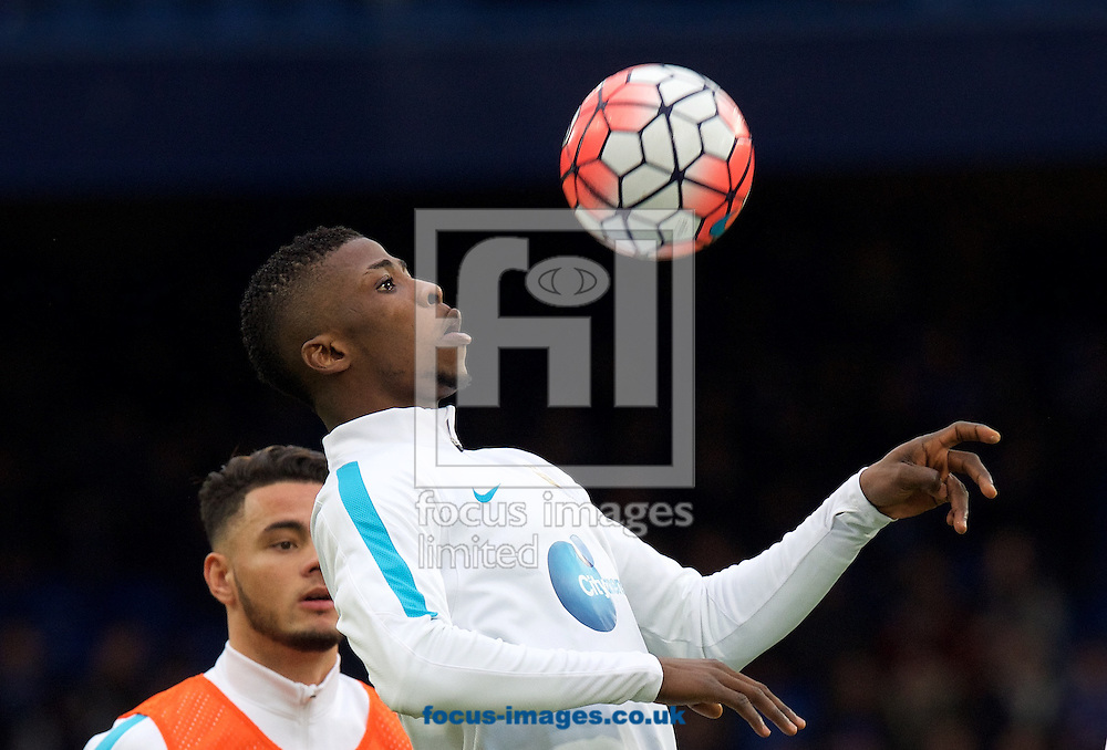 Fernandinho of Manchester City warming up before the FA Cup match at Stamford Bridge, London<br /> Picture by Alan Stanford/Focus Images Ltd +44 7915 056117<br /> 21/02/2016